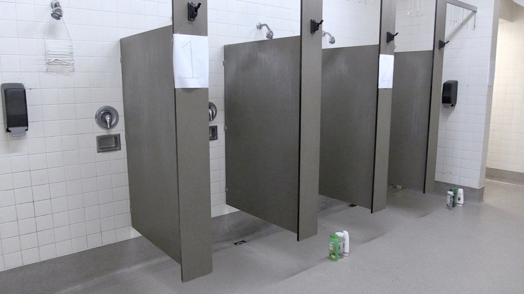 Downtown YMCA showers