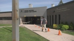 Students return for their belongings in Shelburne