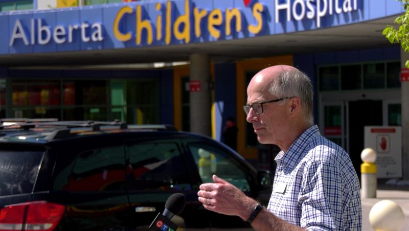 Dr. Kellner said Alberta's high number of confirmed cases of COVID-19 in kids could aid efforts to combat the virus.