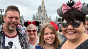 Kim Hogeveen and her family cancelled January's to Disney World due to the COVID-19 pandemic. (Photo courtesy: Kim Hogeveen)