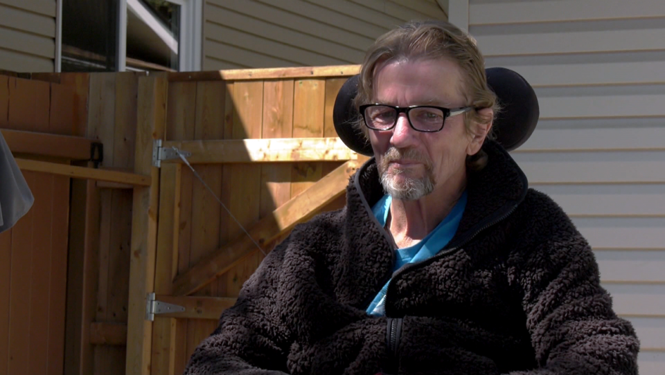 Calgarian Ken Elliott, who was shot and paralyzed while on vacation in Barbados in February, is home after spending months recovering in hospital.