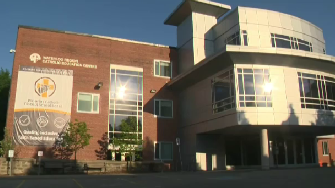 waterloo catholic school board education centre