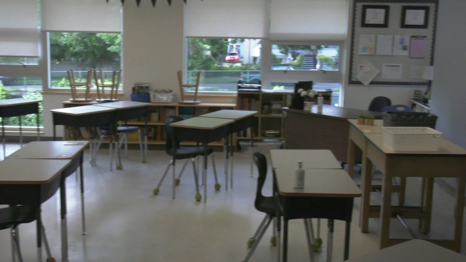 A classroom is seen in this file photo.