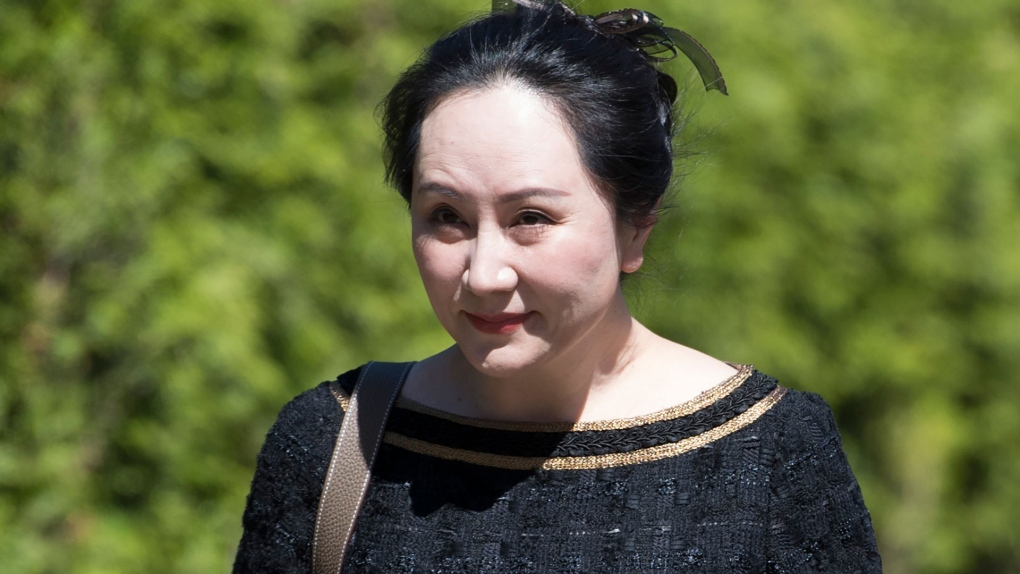 Meng Wanzhou pictured in a file photo.