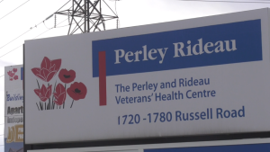 Perley Rideau sign