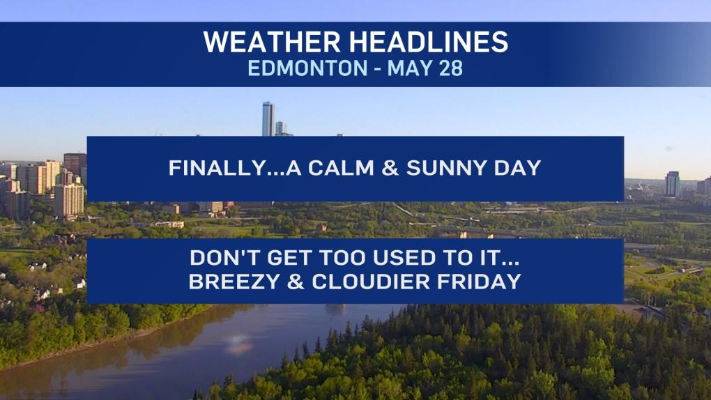 May 28 weather headlines