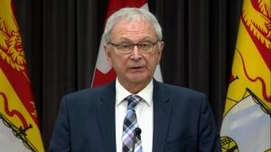 Premier Higgs speaking