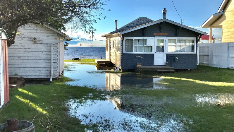 Flooding in Alberta Beach, May 27