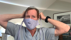Dr. Max Findlay, face masks