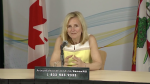 P.E.I.'s Chief Public Health Officer Dr. Heather Morrison gives an update on COVID-19 on May 28, 2020.
