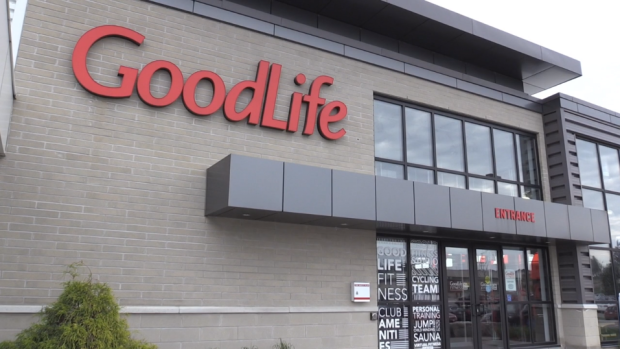 A GoodLife Fitness club in Ottawa.