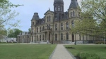The New Brunswick legislature, located in Fredericton, is seen in this file photo.