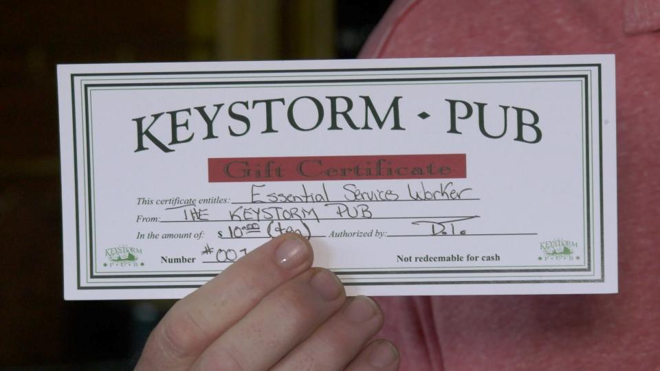 Keystorm gift card