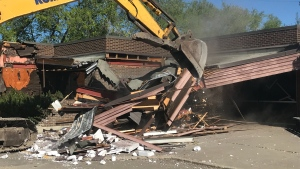 Demolition of the former Family Medicine Centre, which opened in 1981, began on May 28.