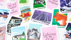 Edmontonia Trading Cards celebrate all things Edmonton.