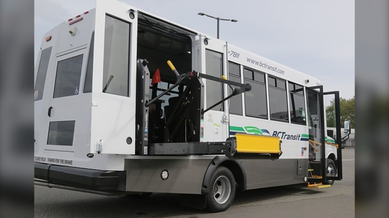 Thirteen new handyDARTs have already entered service in Victoria with 15 more on their way to Nanaimo: (BC Transit)