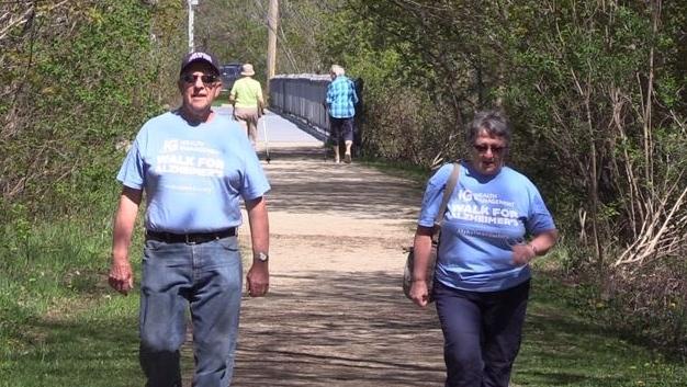 Peter Carter, Walk for Alzheimer's