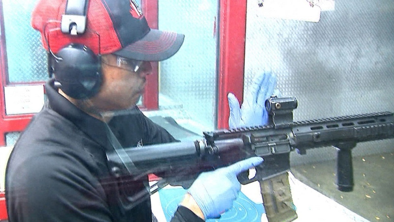 The Shooting Edge and Sterling Arms International have filed a legal challenge of the Trudeau government's ban on assault weapons. (Supplied/The Shooting Edge)