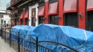 Bar and restaurant patios remain closed due to the COVID-19 pandemic. (Peter Szperling/CTV News Ottawa)
