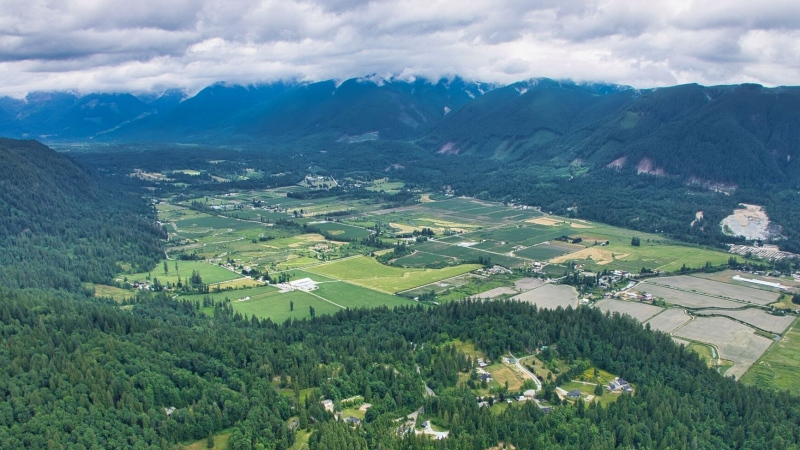 The B.C. government says it has worked with local farmers to help develop strategies to adapt to climate change.