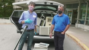 Keeping seniors cool with AC donations