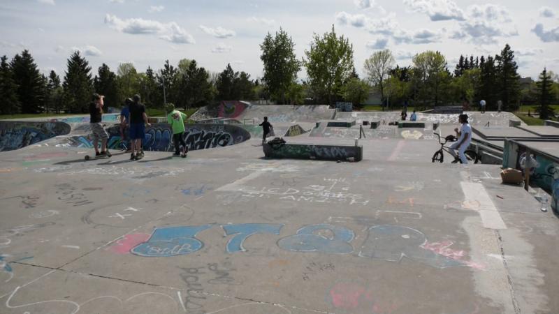 skateboard park Edmonton