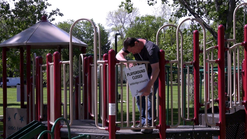 Playgrounds, outdoor fitness equipment, park benches and picnic tables reopen Friday, but it will be up to individuals to protect themselves via cleaning and physical distancing.