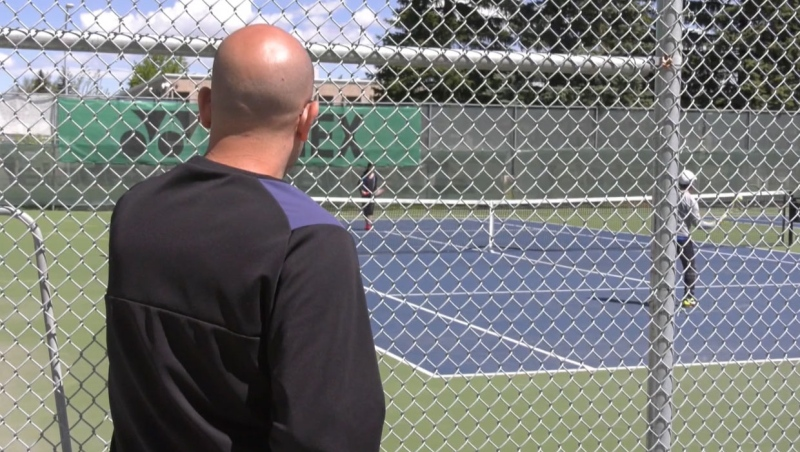 Tennis players in Calgary need to live with a number of rules put in place because of the COVID-19 pandemic.