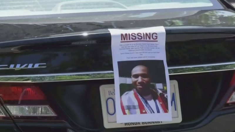 New clues in search for missing man