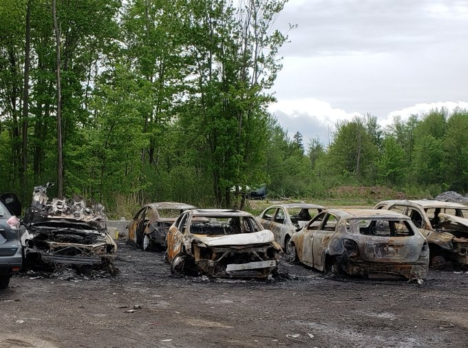 Leitrim Road Fire