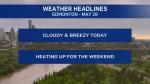 May 29 weather headlines
