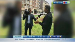 Mayor Bowman interviews Rahim on his last day