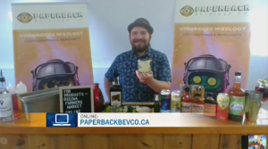 Paperback Beverage Company makes margaritas using all locally sourced ingredients