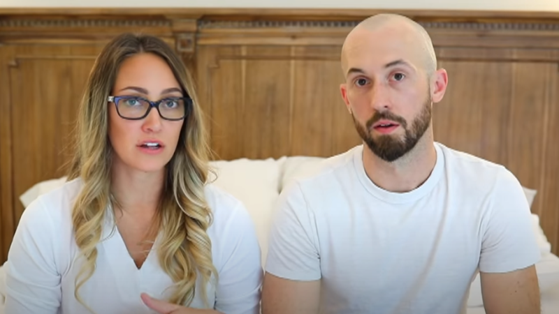 James and Myka Stauffer speak on their YouTube channel. (Source: Myka Stauffer / YouTube)
