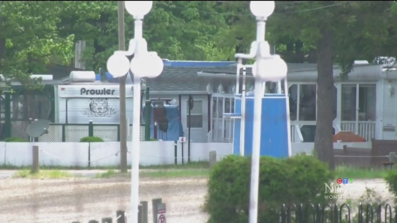 People living in the Chateauguay Valley say they're worried a massive campground there will attract thousands of vacationers.
