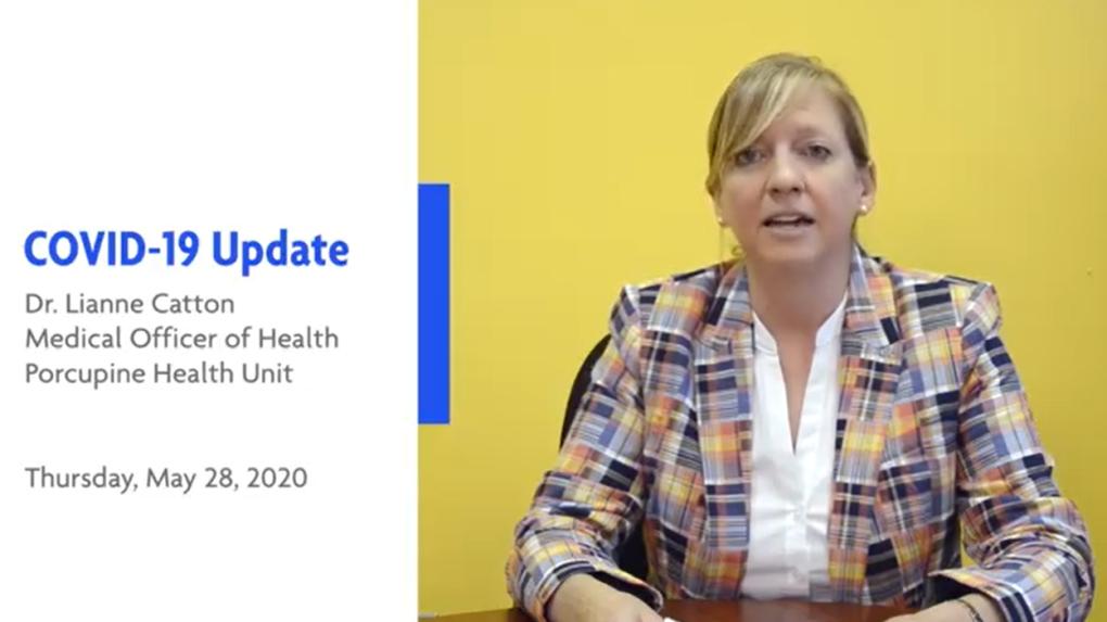 Porcupine Health Unit's Dr. Lianne Catton