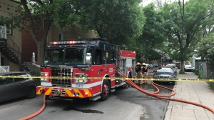 Firefighters were called to the scene of a residential fire in Little Italy Friday May 29, 2020.