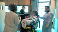 Montreal emergency room