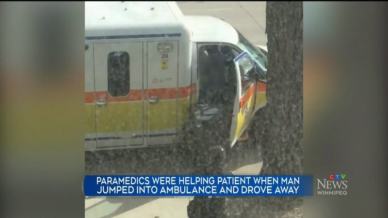 Ambulance theft
