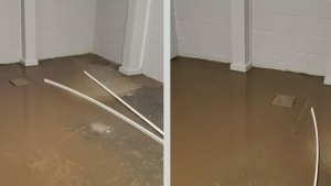 Saskatoon woman cleans up floods