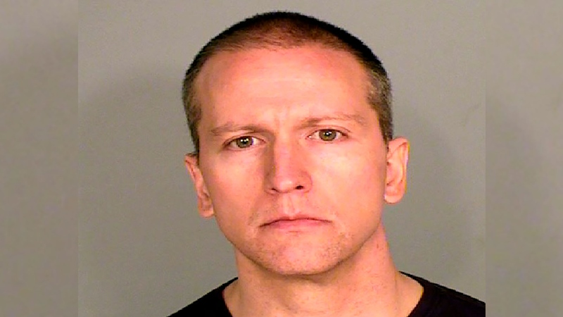 This photo provided by the Ramsey County Sheriff's Office shows former Minneapolis police Officer Derek Chauvin, who was arrested Friday, May 29, 2020, in the Memorial Day death of George Floyd.  (Courtesy of Ramsey County Sheriff's Office via AP)