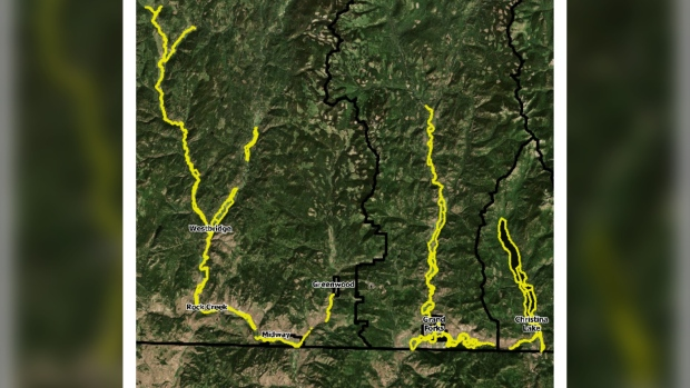 Evacuation alert issued for 2,300 Kootenay region residents due to possible floods