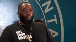 Killer Mike delivers emotional speech
