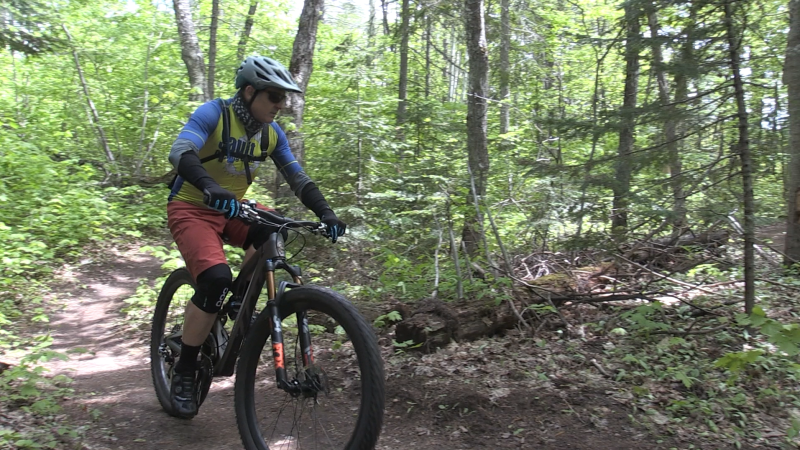 The city of Sault Ste. Marie is looking for feedback on its mountain biking trail expansion. May 30/2020 (Christian D'Avino/CTV Northern Ontario)