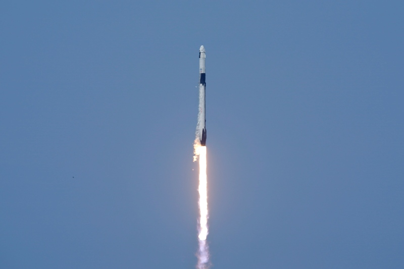 SpaceX manned launch successful