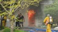 Moncton fire displaces family of three