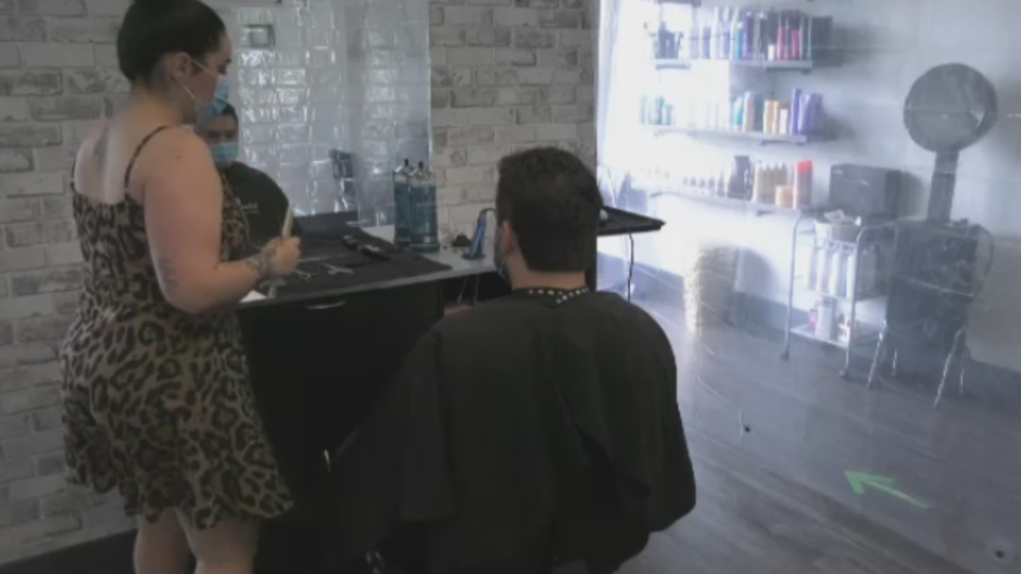 """While some business owners have had to delay their reopening, others who were allowed to reopen have their concerns. """"Number one, is a client coming in that has possibly been in Campbellton – we don't want to be the spread of more COVID-19,"""" says SOHO Beauty Bar co-owner, Theresa Lirette. """"Two, we will be shut down again."""""""