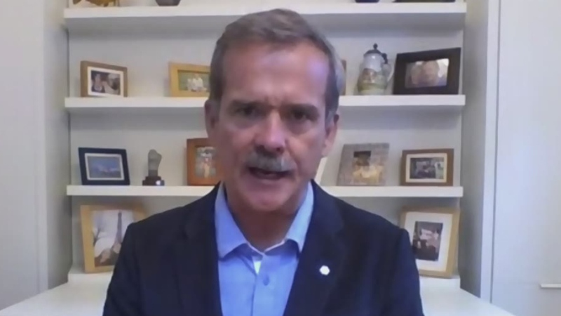 Retired astronaut, Col. Chris Hadfield