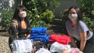 Dragon boat teams donate supplies