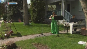 CTV National News: Creative curbside concerts